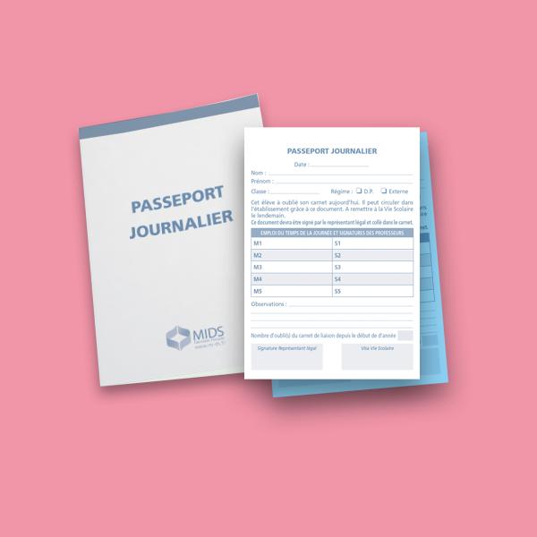 Passeport journalier