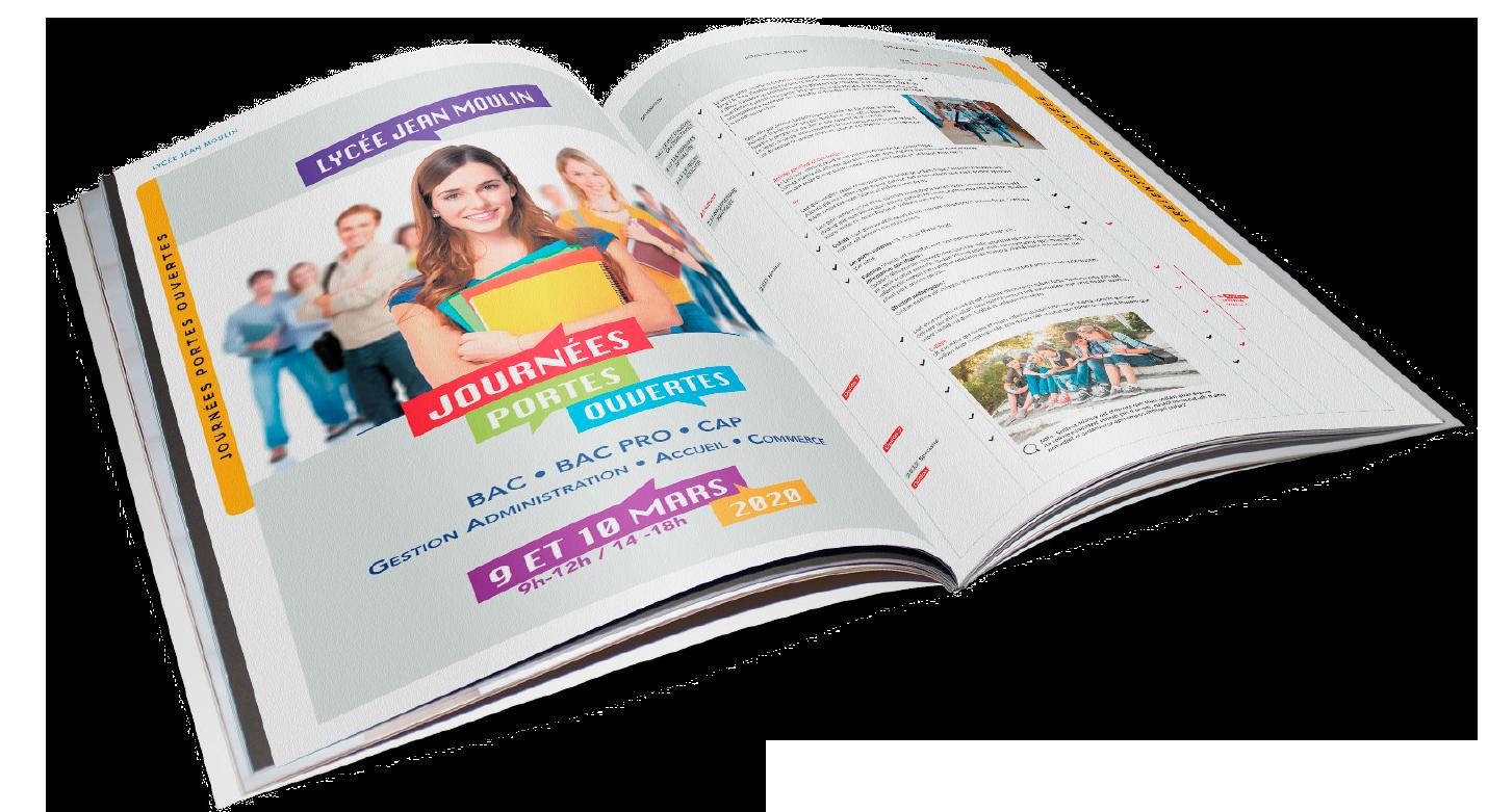 brochures pour vos évènements