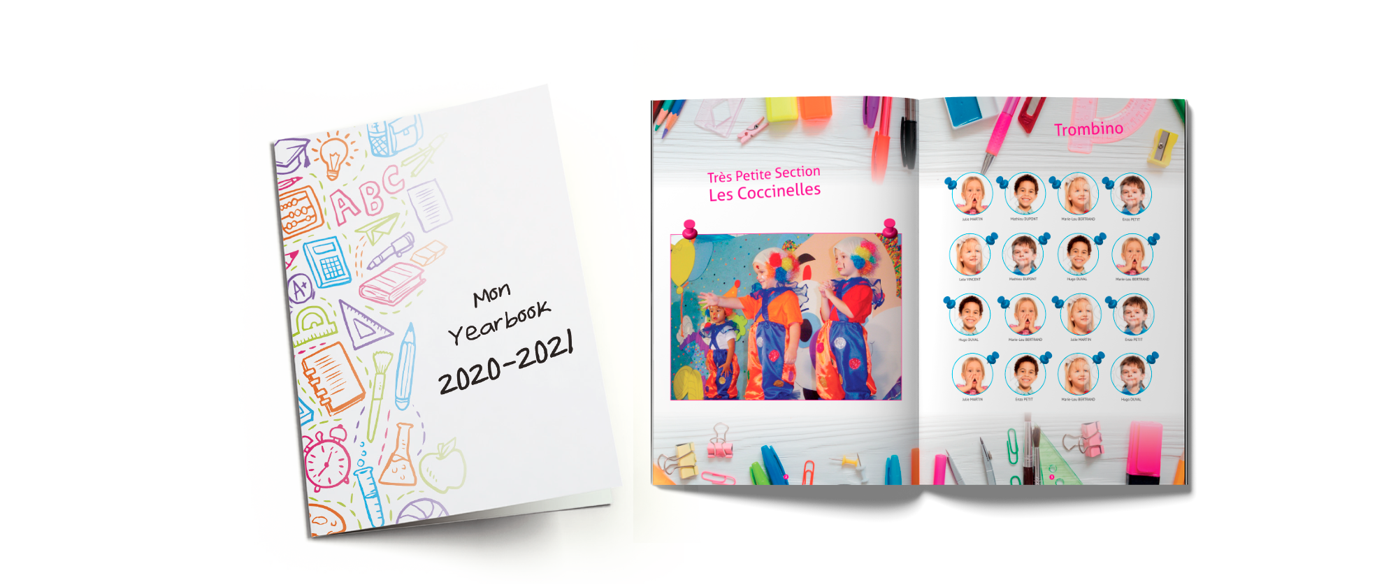 Yearbook 2020 intérieur