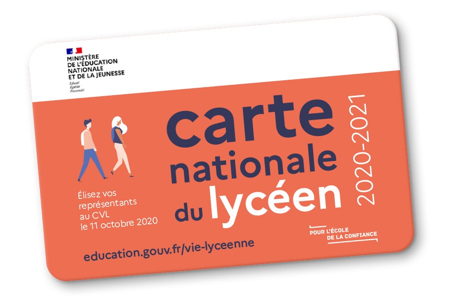 Carte nationale du lycéen